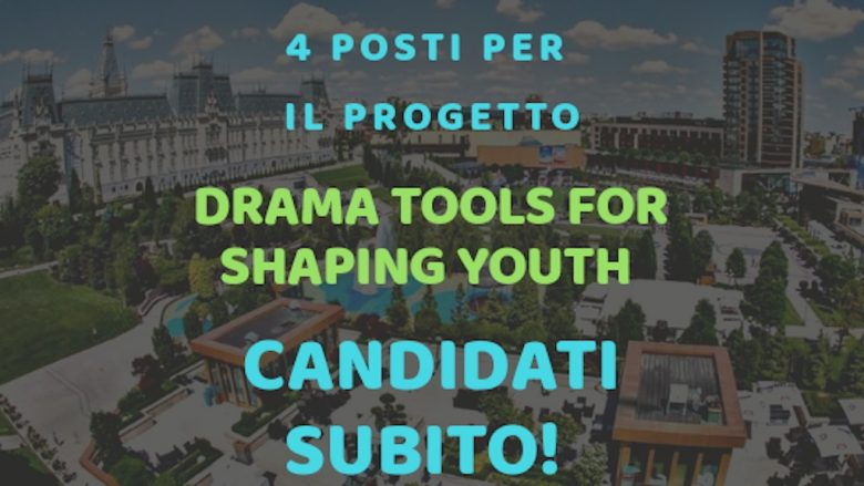 Progetto DRAMA TOOLS FOR SHAPING YOUTH!