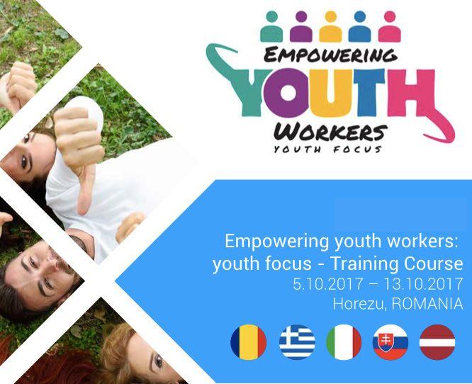 Progetto Empowering Youth Workers. Cerchiamo 5 partecipanti!