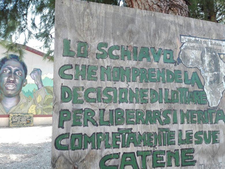 "Third day: ""Casa Sankara Ghetto out"" and ""Và 'zapp"""